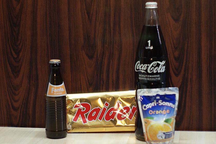 Raider - Fanta klassische Flasche - Alte Coca Cola Literflasche aus Glas
