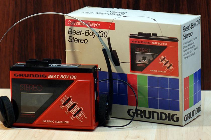 """Grundig Beat Boy 130 """"Walkman"""" aus den 80er Jahren"""