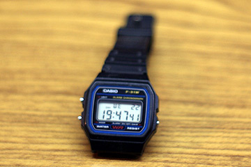 Casio F-91W Digitaluhr