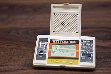 Casio Western Bar - LCD Spiel