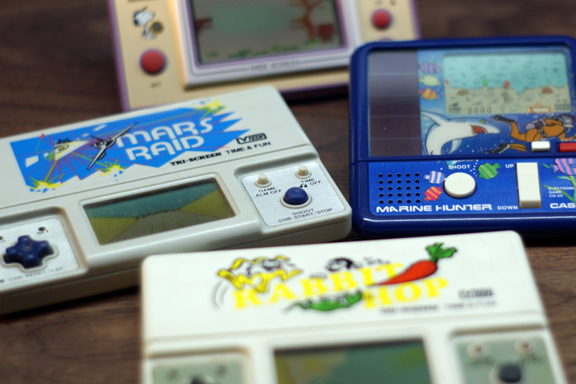 LCD Spiele der 80er - Nintendo Game & Watch