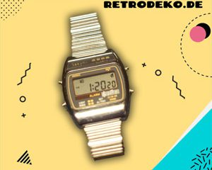 Retro Digitaluhr