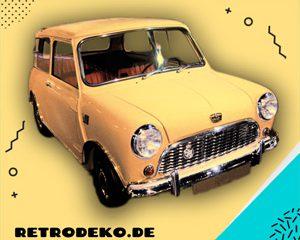 Mini Cooper der frühen 60er-Jahre