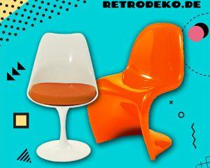 Design von Panton, Eames & Saarinen